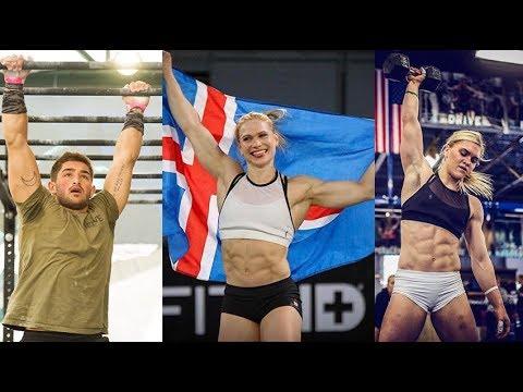 568b9d560a6 Katrin Davidsdottir   Annie Thorisdottir vs Cody Mooney At WOW Stronger 2018