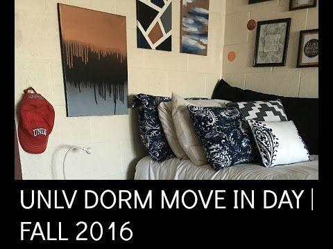 UNLV Dorm Move In Day & Tour | Fall 2016