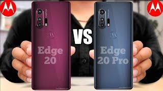 Motorola Edge 20 Vs Motorola Edge 20 Pro