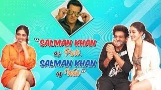 Salman Khan-Pati, Salman-Woh | Ananya Panday | Kartik Aaryan |Bhumi Pednekar Pick Pati Patni Aur Woh