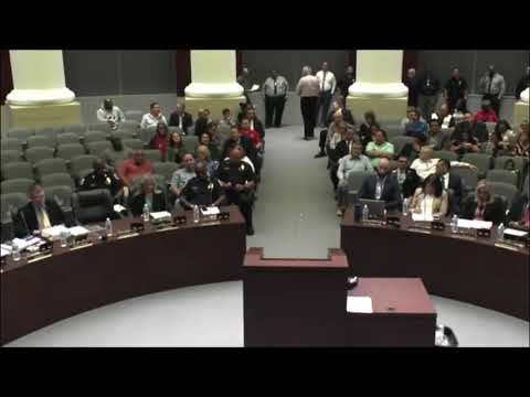 He Calls Them Out On A Felony. McDonough Vs Corruption And Lies. Council Meeting