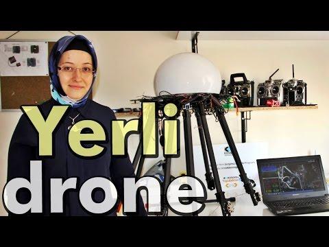 Genç Kadın Yerli Drone Üretti