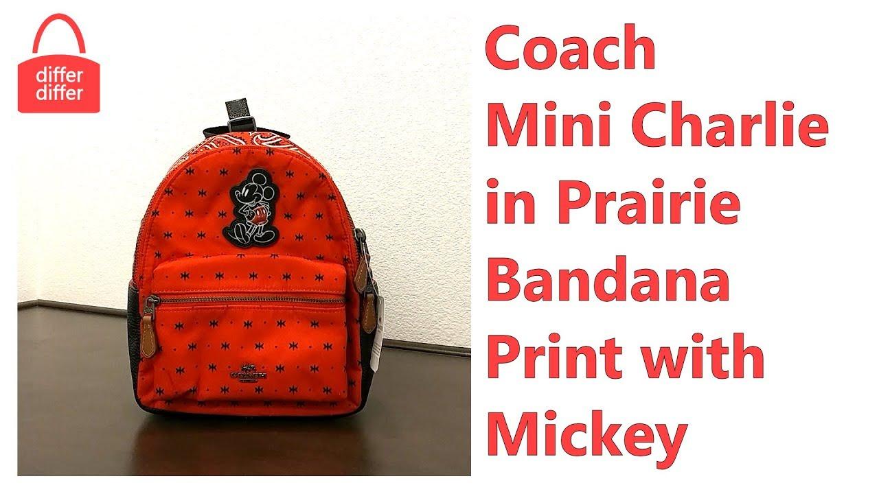 ce007696b697 Coach Mini Charlie Backpack Red- Fenix Toulouse Handball
