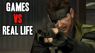 Shooting Guns In Real Life vs Games, A Scientific Study