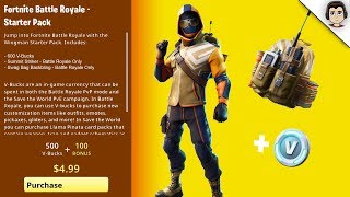 "Comment obtenir ""SUMMIT STRIKER STARTER PACK"" Fortnite Starter Pack 4 NEW SKINS - Date RELEASE potentiel"
