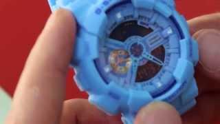 Налаштування годинника Casio G-SHOCK ga 110 Частина №1