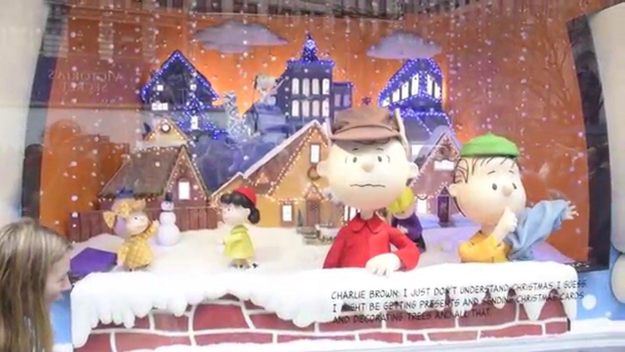 Youtube Charlie Brown Christmas.Macy S 2015 Charlie Brown Christmas