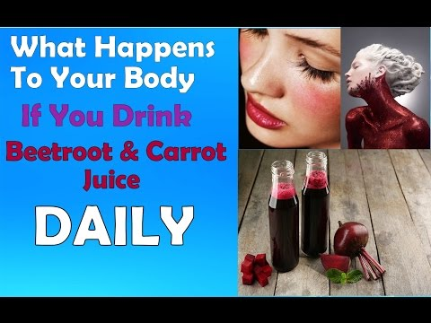 What Happens If You Drink Beetroot & Carrot Juice Daily -   Health Benefits