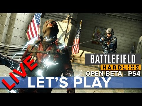 Battlefield Hardline Open Beta (PS4) - Eurogamer Let's Play LIVE