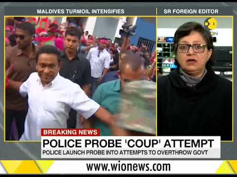 Breaking News: Maldives turmoil continues; Police launch probe into attempts to overthrow govt