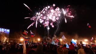 21.03.2014 Салют в Севастополе в честь присоединения Крыма к России!