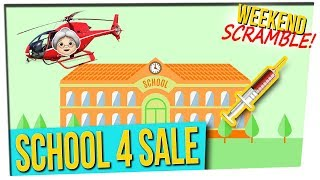 WS: Spinning Lady Rescue || School for Sale || Drive-Thru Poke