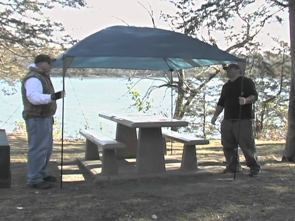 & Guide Gear 10x8 Dining Canopy - YouTube