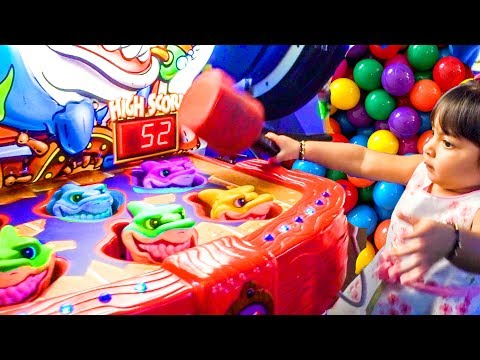 Kids Arcade Games Plastic Ball Game Shark Game Fish Game Main Event - ZMTW