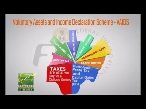 Voluntary Assets and Income Declaration Scheme - VAIDS