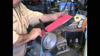 Repeat youtube video # 122A belt sander sharpening
