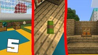 5 ТРЮКОВ, БАГОВ, ХИТРОСТЕЙ  в Minecraft PE 1.1.3