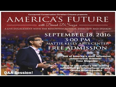 America's Future with Dinesh D'Souza