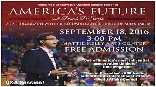 America's Future with Dinesh D'Souza