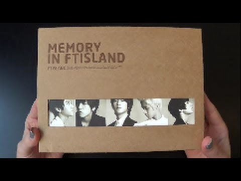 Unboxing FT Island 에프티 아일랜드 Korean Remake Mini Album Memory in FTISLAND
