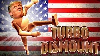 DONALD TRUMP hebt AB?! - Turbo Dismount #04 [Deutsch/HD]