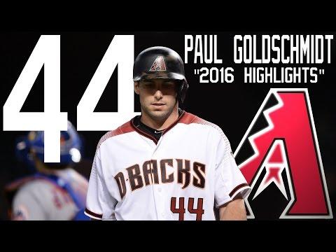 Paul Goldschmidt | Arizona Diamondbacks | 2016 Highlights Mix ᴴᴰ
