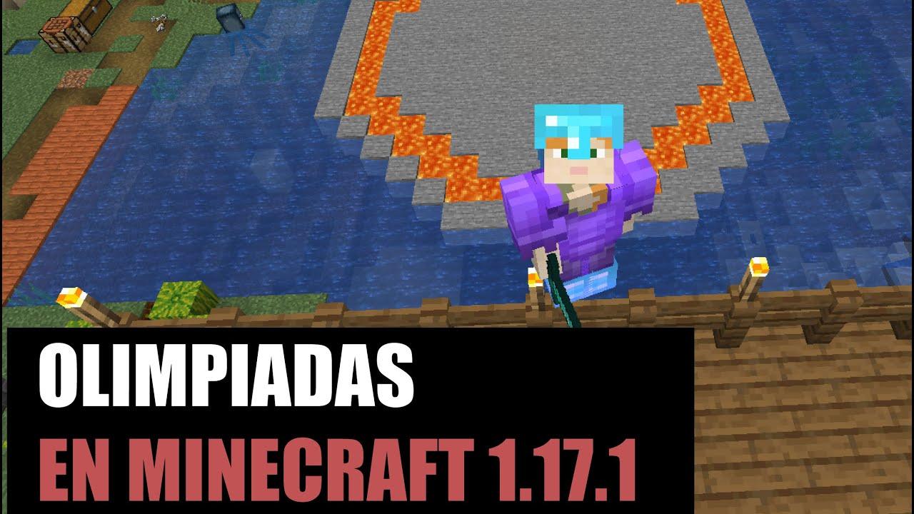 Olimpiadas en Minecraft   Servidor Minecraft 1.17.1