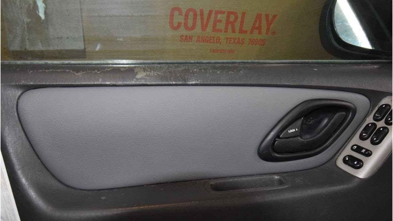 Coverlay 2001 2007 Ford Escape Door Panel Inserts Part 12 18 Youtube