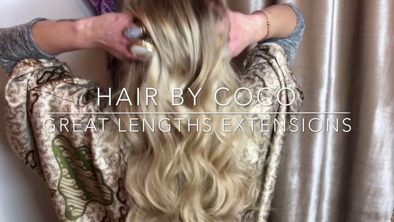 Great Lengths Hair Extensions Mermaid Hair By Coco Love Purnama