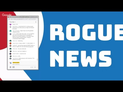 """ROGUE MORNINGS - Special Guest - W """"The Intelligence Insider"""""""