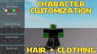 [PART 2] Roblox Scripting - Character Customization! Hair + Clothing!! FILTERING ENABLED!