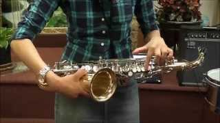 Notas basicas Basic Notes Saxophone