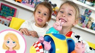 #РАСПАКОВКА #ИГРУШКА #РАКЕТА #СВИНКАПЕППА - Маленькая Вера - Развивающие игры для малышей