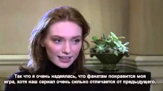 Poldark cast interview Русские субтитры