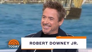 Robert Downey Jr. Talks About New Film 'Dolittle,' Death Of Iron Man, More   TODAY