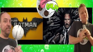 John Wick Chapter 2/The Lego Batman Movie (Cinema Gulp review)