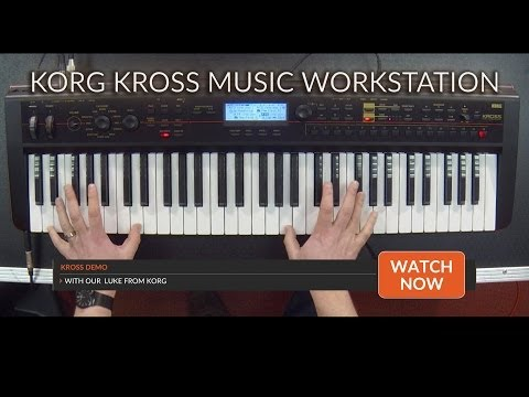 Absolute Music: Korg Kross Music Workstation