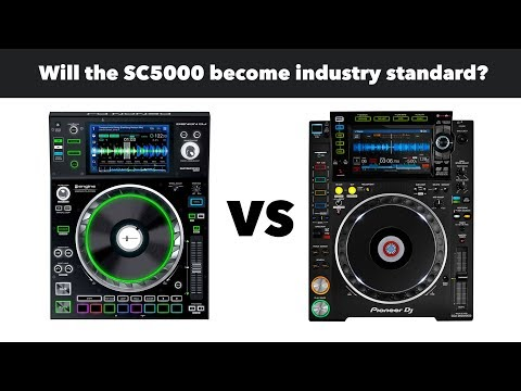 Denon vs Pioneer DJ - Will the SC5000 player become industry standard?