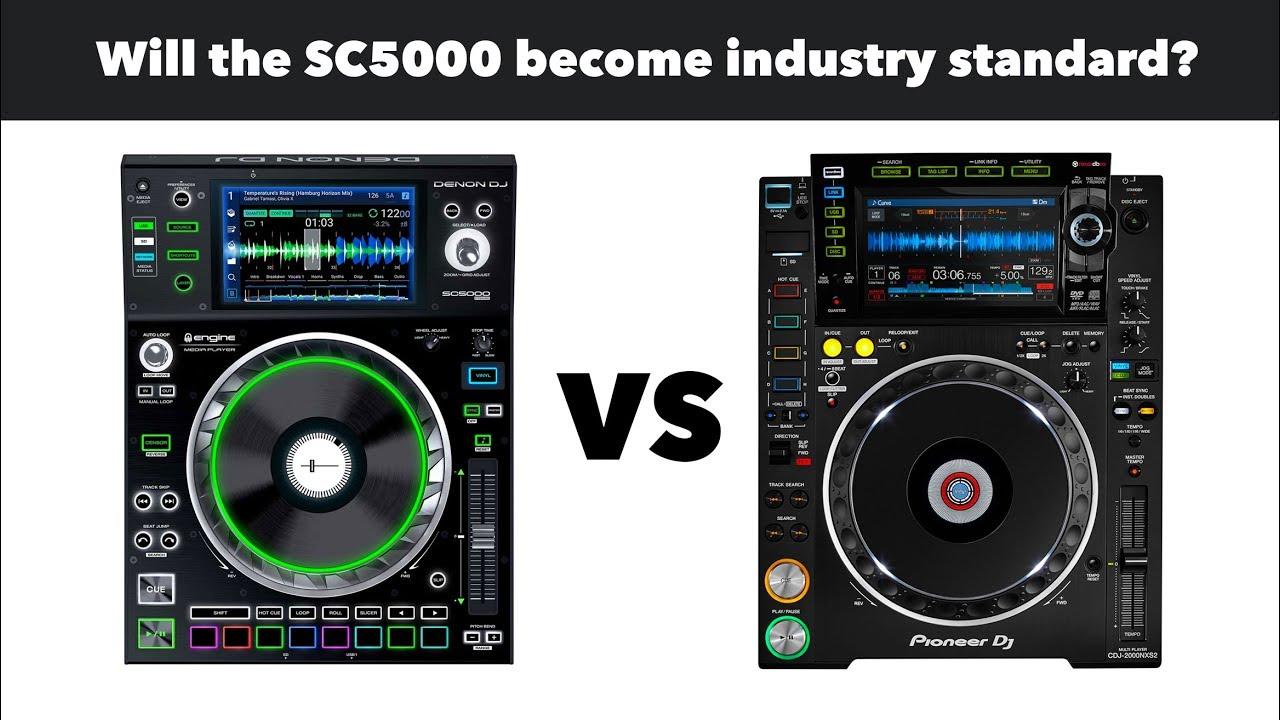 denon dj sc5000 vs cdj