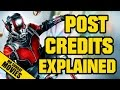 ANT MAN Post Mid Credits Explained Spoilers