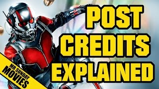 ANT-MAN Post & Mid Credits Explained (Spoilers)