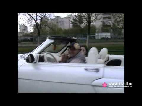 ГАЗ 21 кабриолет Ласточка. Прокат кабриолета на свадьбу