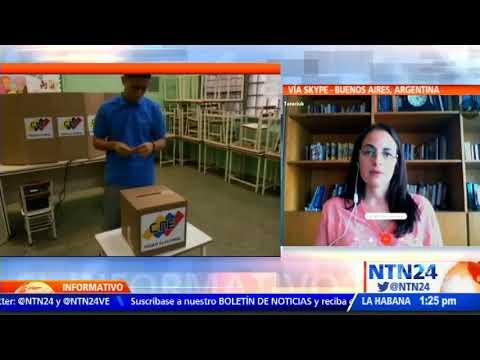 Investigadora de Human Rights Watch: Elecciones venezolanas no poseen garantías
