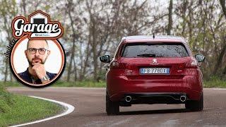 Peugeot 308 gti | fra le curve con la prova di andrea