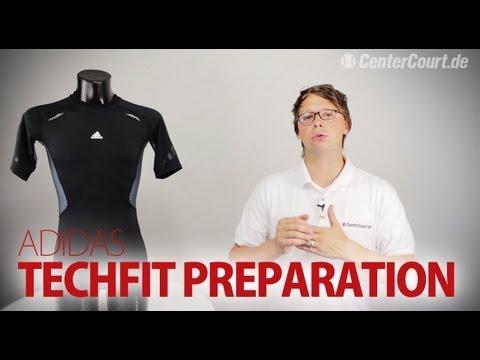 rizo Influencia cúbico  adidas TechFit Preparation Tee - YouTube