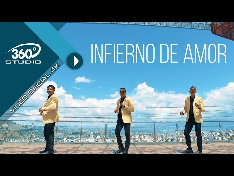RUBEN DARIO Y SU GRUPO IDEAL STAR BAND - INFIERNO DE AMOR (Video Oficial 4k)