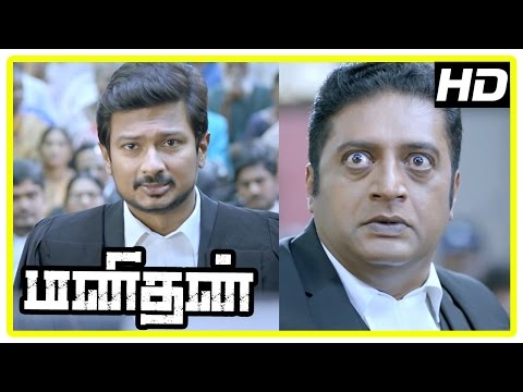 Manithan Tamil Movie | Scenes | Udhayanidhi wants to call Raja Rishi as evidence of accident