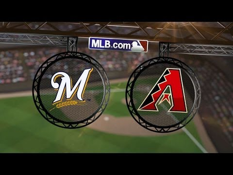 6/17/14: Lucroy slams home Crew's message to D-backs