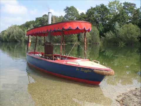 Dr. Snuggles Jungfernfahrt  dieses Dampfboot ist ab 2013 zu verkaufen !