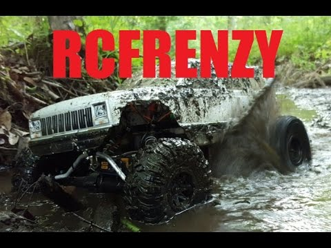 RCFRENZY--RC Jumps Mudding Stunts Crawlers Custom Builds And More!